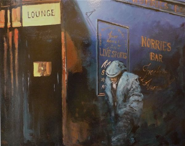 Lounge Lizard | Alexander Millar - Love how this artist captures the spirit of the North of England.