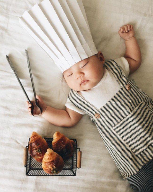 Des photos rigolotes de bébé pendant sa sieste. Ca nous donne envie de faire de même !