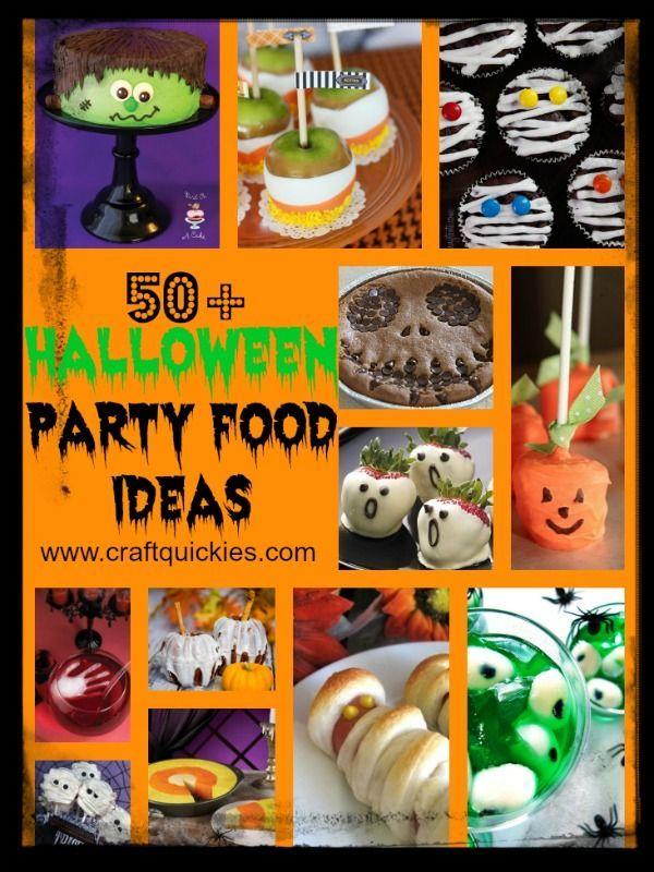 50+ Halloween Party Food Ideas!