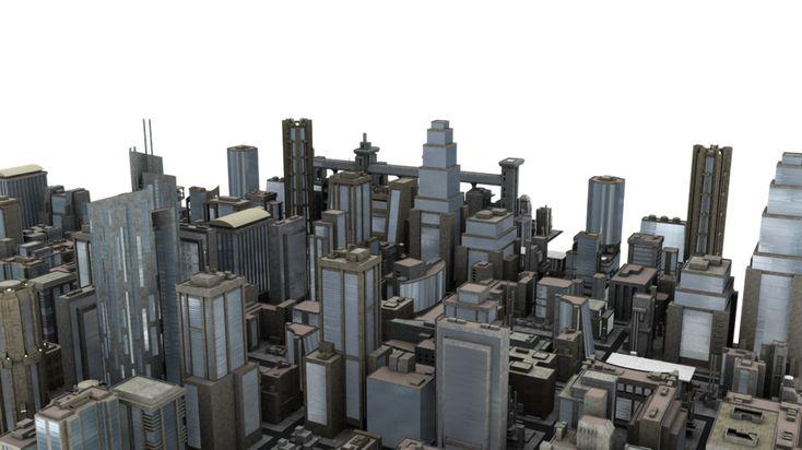 City Blocks PNG by neverFading-stock.deviantart.com on @DeviantArt