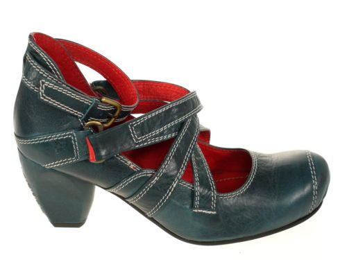 Tiggers-Schuhe-Art-Irma-10-Halbschuhe-Pumps-blau-Gr-40-Das-Original-NEU-OVP