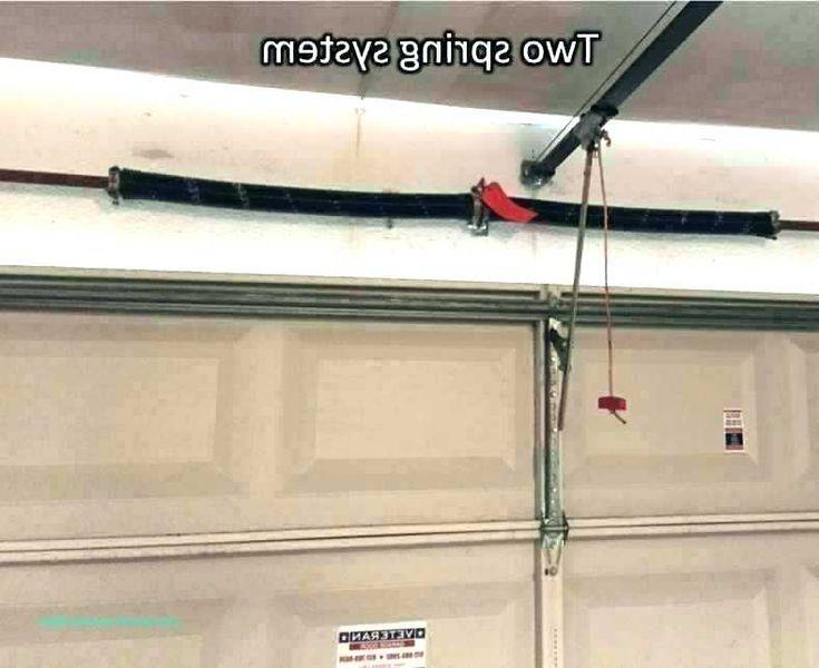 Garage Door Fix Tighten Garage Door Spring Garage Door Torsion