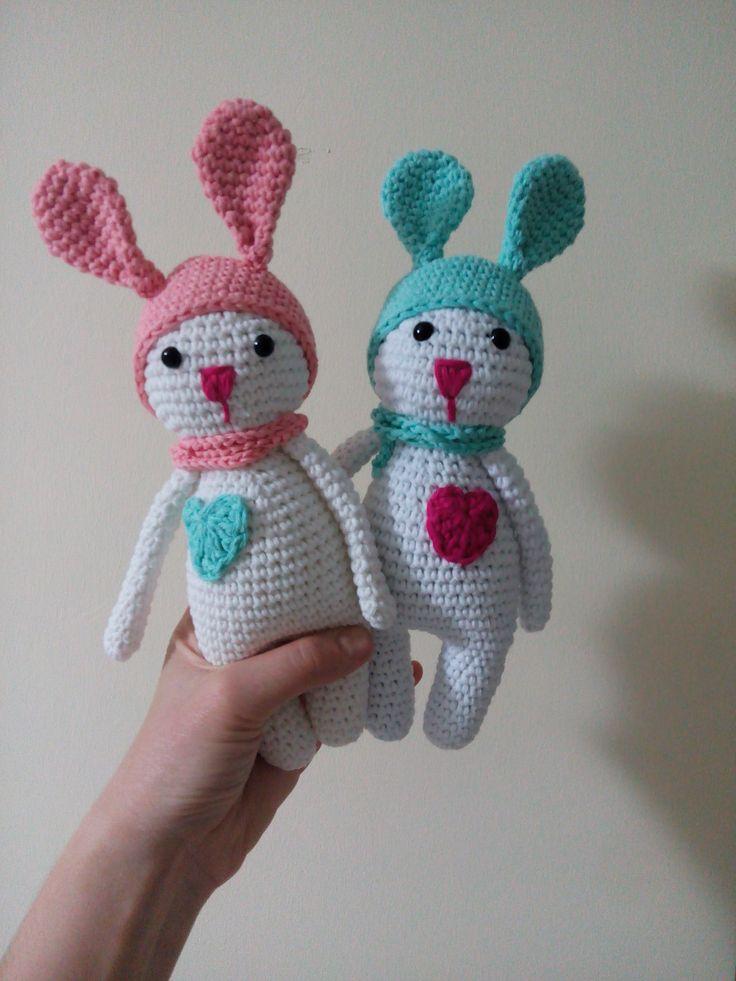 amigurumi, örgü oyuncak, pattern, crochet, tığişi, tavşan, bunny, rabbit