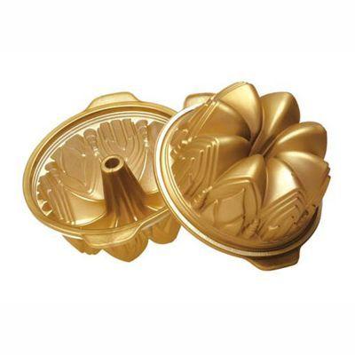Forma CATEDRAL ALTA. Diam. 220mm. Cor dourada, para bolos, pudins, gelatinas, etc. Com volume de 2,25 litros. Com anel de segurança. http://monteluce.com.br/silikomart/forma-catedral-alta-diam-220mm-cor-dourada-para-bolos-pudins-gelatinas-etc-com-volume-de-2-25-litros-com-anel-de-seguranca  #decor #decorar #decoracao #casa #monteluce #decoracaodeinteriores #festa #casamento #thisisliving #casa #decor  #silikomart #silicone #utensílios #formadesilicone #forma #catedralalta…