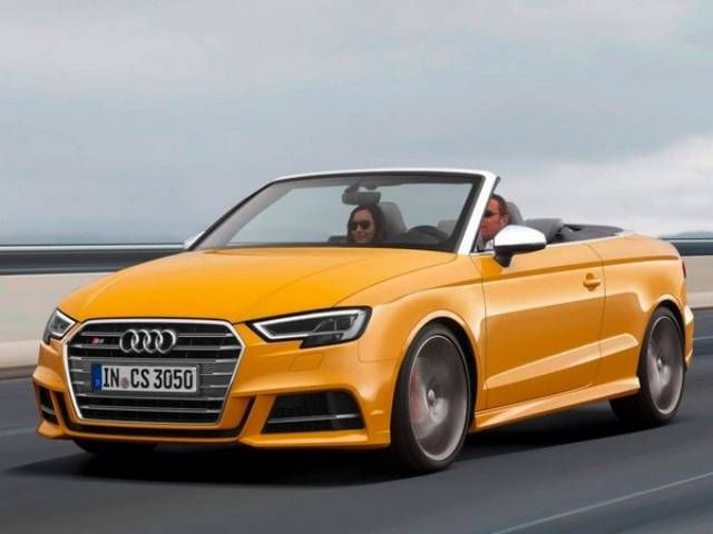 Audi A3 2017 Convertible