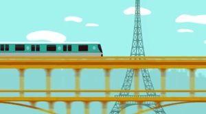 """Visit Paris by Metro"" app"