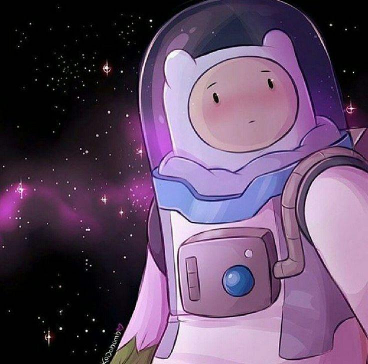 Finn stuck in space.