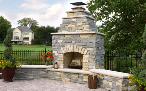 72 best images about outdoor fireplace ideas on pinterest