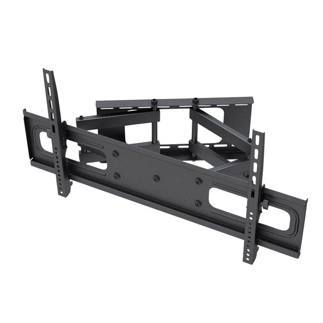 mountit full motion 37 to 63inch flat panel tv wall mount