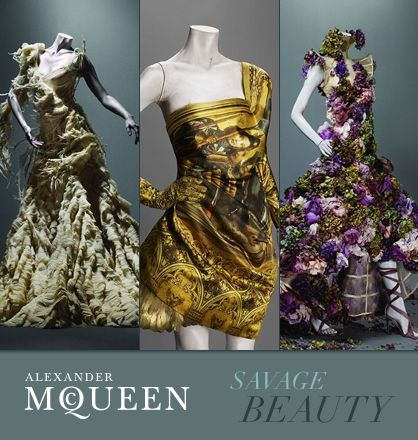 A. Mc.: Alexander Mcqueen, Fashion Style, Savages Beautiful, Alexandermcqueen, Silk Satin, Girls Fashion, Exhibition, Mcqueen Savages, Metropolitan Museums
