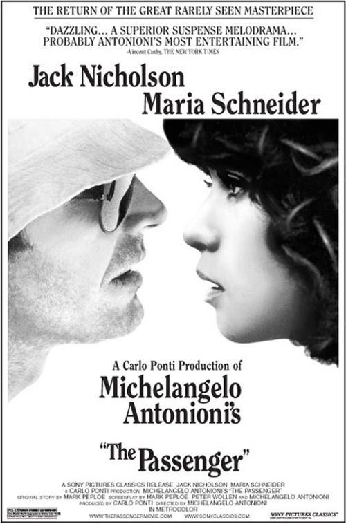 """PROFESSIONE: REPORTER (""""THE REPORTER"""") // Italian-Spanish-French drama by Michelangelo Antonioni, 1975."""