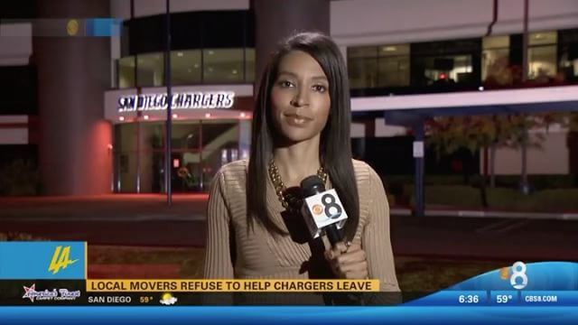 Who's moving the @Chargers stuff to #LosAngeles? Movers in #SanDiego say they're NOT🏈📦 http://www.cbs8.com/story/34272218/local-moving-companies-refuse-to-help-chargers-relocate-to-la #Chargers #NFL #LAchargers #ChargersMove #LosAngelesChargers