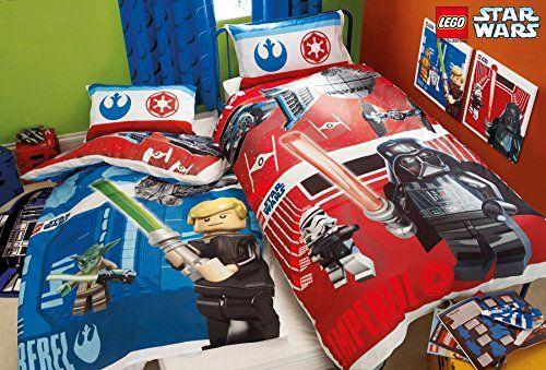Lego Star Wars Battle Single Duvet Cover Polycotton Bed