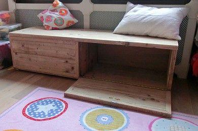 speelgoedkist - Steigerhout Het Gooi