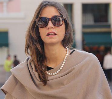 Elegance of our cape! Discover it on shop.marinafinzi.com #marinafinzi #MadeinItaly