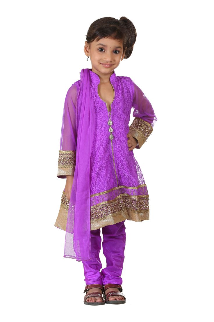 Buy Ashwini Girls' Netted Salwar Suit for Girls from age 2-8 years at http://Singlekart.com/ Currently available for Customers in Bangalore. #singlekart RHClothing