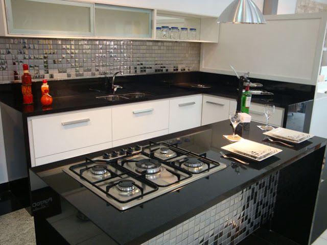 25 melhores ideias de cozinha em granito preto no for Comprar encimera de granito