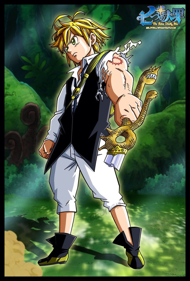 Meliodas! My fav character from Nanatsu No Taizai. Full