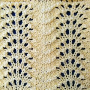 Fan And Feather Knit Pattern : 17 Best images about Knit PATTERNS_Feather & Fan, Ostrich &c. on Pint...