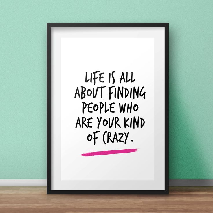 Funny Poster Gift For Her Printable Art Inspirational: 22 Best Typographic Prints Images On Pinterest