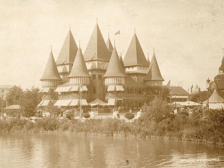 Café de Marine Restaurant at the World's Columbian Exposition, Chicago,1893
