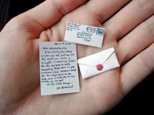 Que tal enviar una mini nota??? Lindo detalle