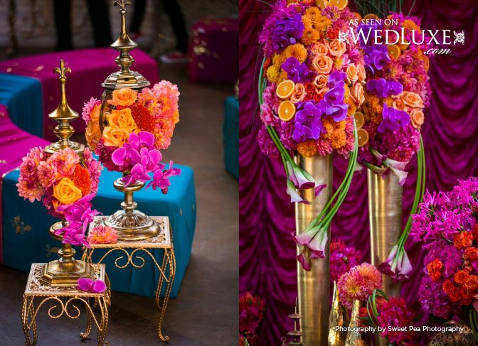 Moroccan Themed Wedding-Party | Wedluxe