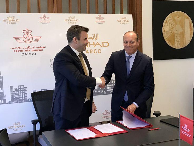Royal Air Maroc et Etihad Airways, partenaires dans l'activité cargo