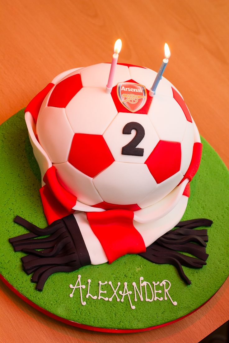 17 best Cakes Arsenal images on Pinterest Football cakes Soccer
