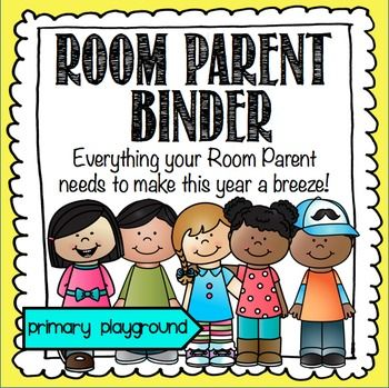 Room Parent ~ Room Mom Binder Editable!Everything your Room Parent needs to make this year a breeze! Help your Room Parent stay organized this year! Everything that they'll need for a smooth and organized year is included in this file. This pack includes:- A welcome letter introducing themselves to the parents and to gather information to create a class directory. 2 options.