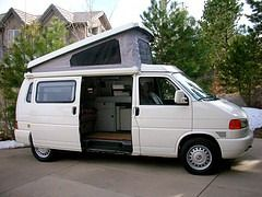 Eurovan camper, this is the one we have!  LOVE IT!
