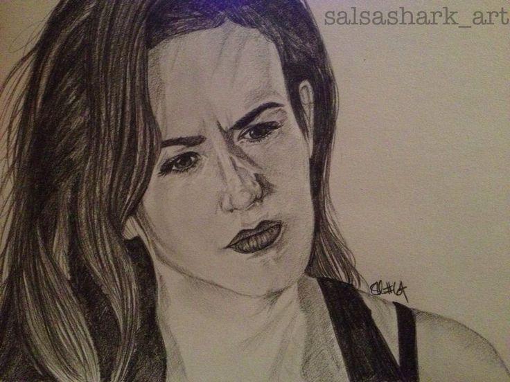 Tara Knowles (Maggie Siff) sketch