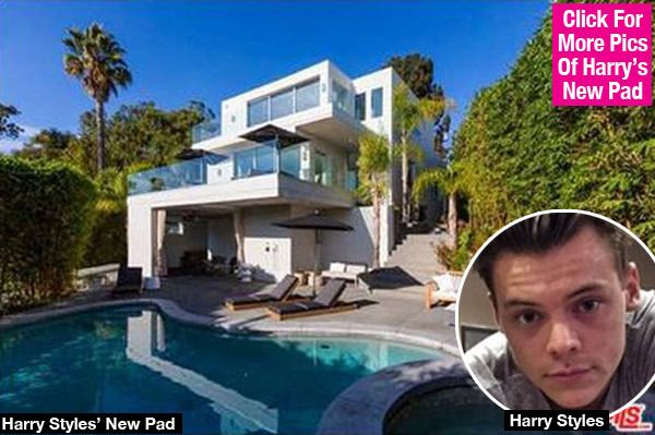 Harry Styles' Hot New Hollywood Home — See Inside The $6.8 Million Mansion
