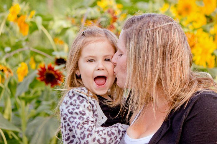 Mother Daughter Photos, Sunflower Field