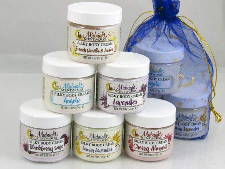 Silky Body Cream Sampler Set