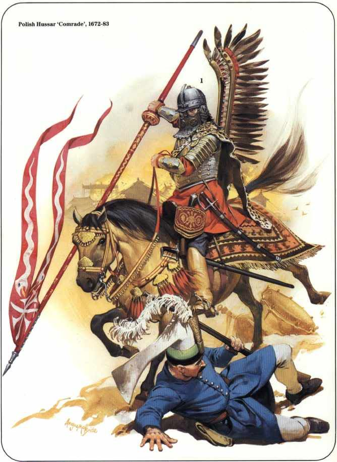 The polish winged hussar's greatest hour was siege of vienna 1683 when a charge spearheaded by 3000 of these routed the ottoman army.
