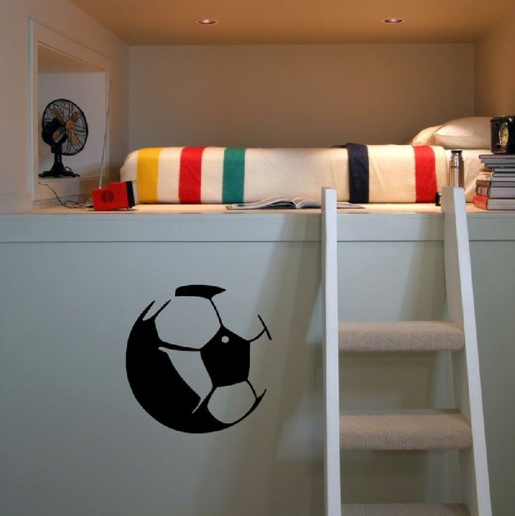 17 best images about chambre ado garcon on pinterest football london and b - Deco basketball chambre ...