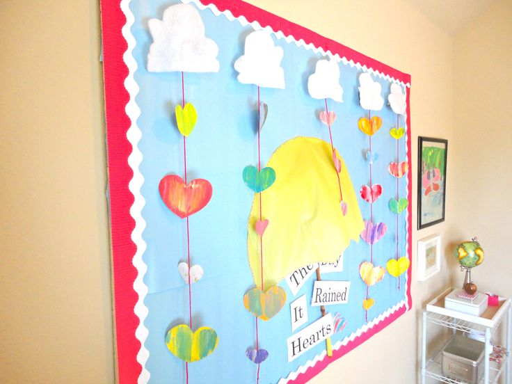 Classroom Design For Valentines : Bulletin board design ideas and classroom decorating