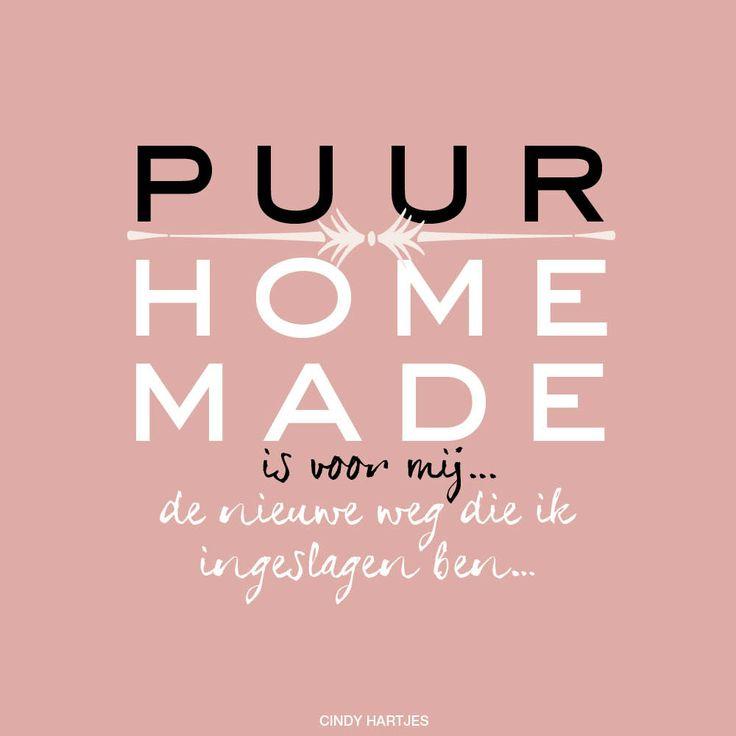 Een van de winnaars van de PUUR Homemade ACTIE: maak de zin af: Puur Homemade is voor mij... - www.puurhomemade.nl