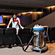 Aspirador de polvo y agua: Hasta 3 motores, y hasta 120 litros de capacidad. Aspira polvo y liquidos.