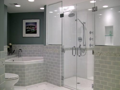 contemporary bathroom How Recessed Lighting Can Brighten Your Home HomeSpirations