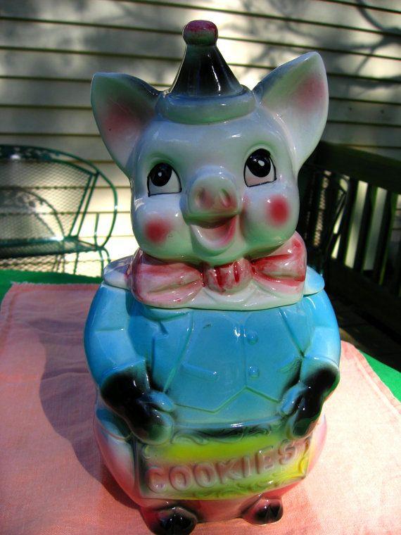 1950's Cookie Jars 352 Best Cookie Jars Images On Pinterest  Vintage Cookies Antique