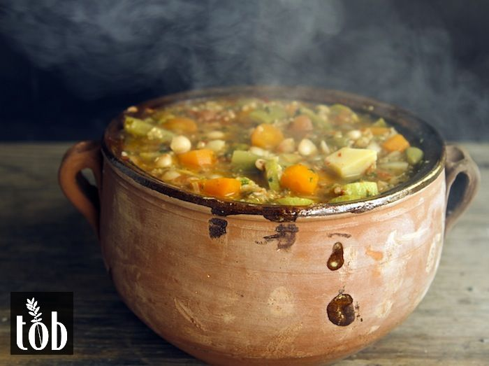 Pistou Soup - a soup originating from the South of France