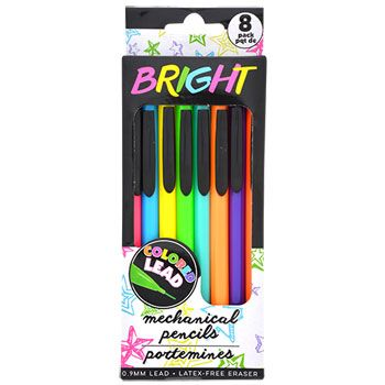 """Mechanical Colored Pencils with Brightly Colored Lead, 8-ct. Packs $1 PRODUCTS """"#TOYS# KIDS #Crafts #Candy - #OriginalFunGifts """"#christmasdecorations #gifts #kitchen #fun #office #collectables #toys #Arts #food #brands#save4save #flowers #beauty #games #birthday #party #unique #uglyxmassweaters #Health #HomeFragrance #ChristmasHomeDecor #ChristmasOrnaments #ChristmasTrees #Health #HolidayFigurines #Outdoor Decor #cleaning #seasons #homedecorations #tabledecor #Christmasgreetingcards """""""