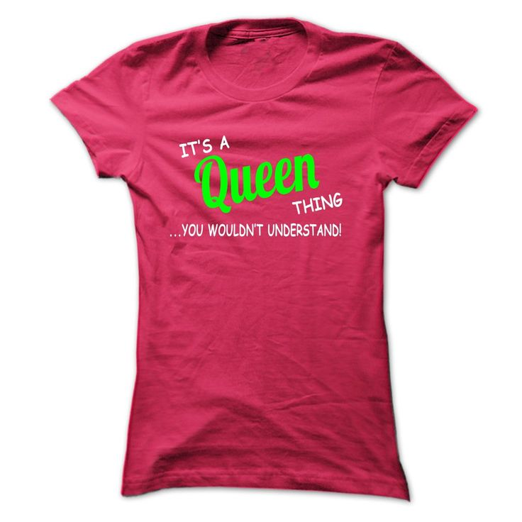 Queen thing understand T-Shirts, Hoodies. Get It Now ==> https://www.sunfrog.com/LifeStyle/Queen-thing-understand-ST420-HotPink-Ladies.html?id=41382