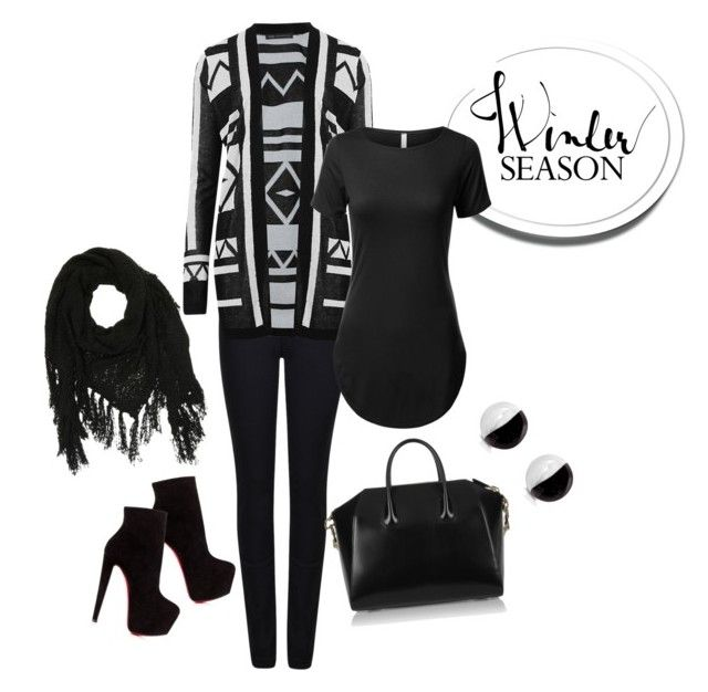 """""""Untitled #23"""" by reetta-v on Polyvore featuring Giorgio Armani, M&S Collection, Givenchy, Christian Louboutin, Charlotte Russe and Antica Murrina"""