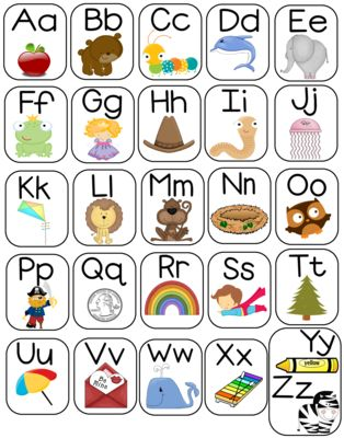 Large+11x14+Alphabet+Poster++from+Pixie+Chicks+Shop++on+TeachersNotebook.com+-++(1+page)+