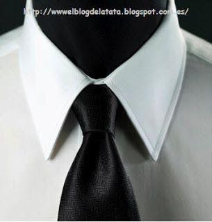 El blog de la Tata: Vamos a hacer el cuello clásico de una camisa de c...