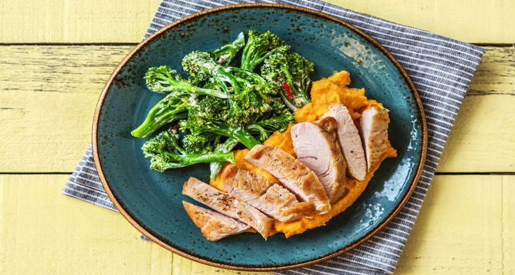 Putenbrustfilet mit Brokkolinigemüse Rezept | HelloFresh