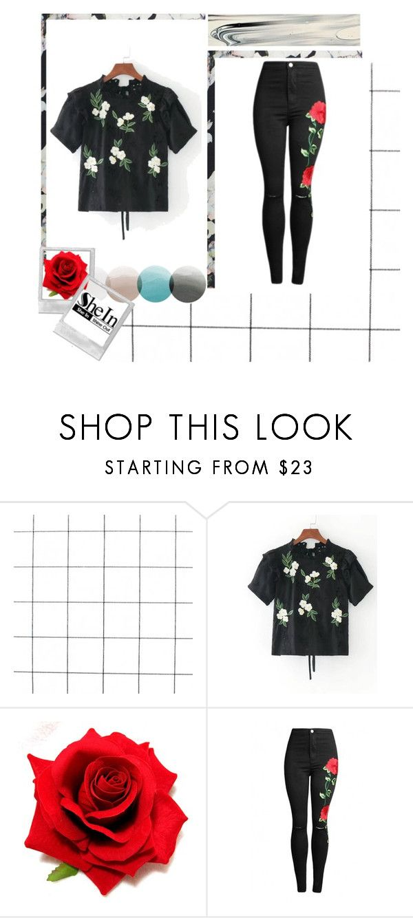"""shein contest"" by salama-iii ❤ liked on Polyvore featuring Rebecca Taylor"